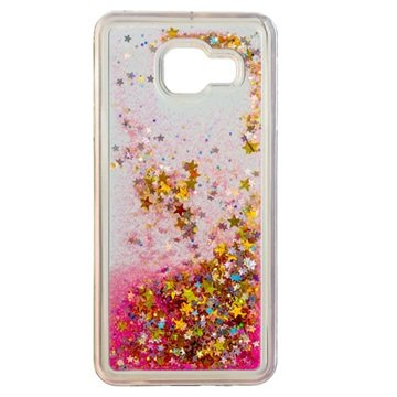 Samsung Galaxy A3 (2016) Urban Iphoria Glamour Cover - Goud   Roze fa9632f7c5512