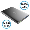 Vinsic VSPB305 Type-C Powerbank - 20000mAh - Zwart