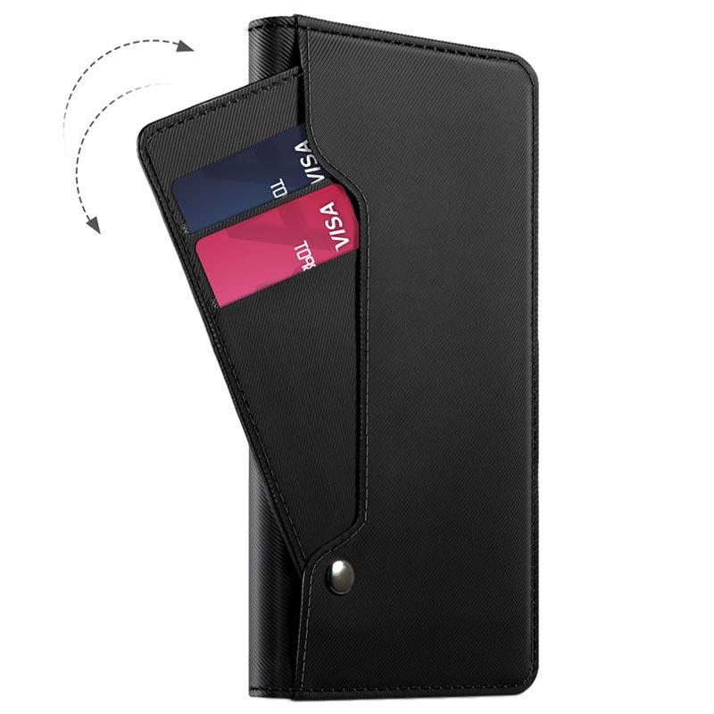 Caisse Noire Livret Mince Pour Huawei P20 Pro UfPvIO1QN