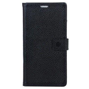 d0b23969659 Samsung Galaxy S8 Wallet Leren Hoesje - Zwart