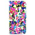 iPhone 5 / 5S / SE Wallet Leren Hoesje - Colorful