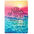 iPad 9.7 Wonder Series Folio Case - Never Stop Dreaming
