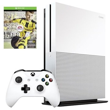 microsoft xbox one s met fifa 17 1tb. Black Bedroom Furniture Sets. Home Design Ideas