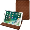 iPad Pro 10.5 Noreve Tradition Folio Leren Tas - Couture - Bruin