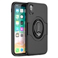 iPhone X iPaky Hybrid Magnetisch Ring Cover