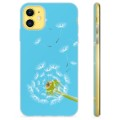 iPhone 11 TPU Case - Paardebloem