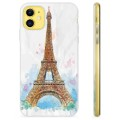 iPhone 11 TPU Case - Parijs