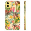iPhone 11 TPU Case - Roze Bloemen
