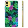 iPhone 11 TPU Case - Tropische Bloem