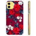 iPhone 11 TPU Case - Vintage Bloemen