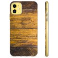 iPhone 11 TPU Case - Hout