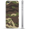 iPhone 5/5S/SE TPU Case - Camouflage