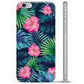 iPhone 6 / 6S TPU Case - Tropische Bloem