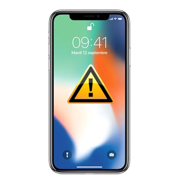 iPhone X Oplaad Connector Flexkabel Reparatie