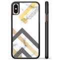 iPhone XS Max Beschermende Cover - Abstract Marmer