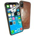 iPhone X / iPhone XS Alston Craig Magnetisch Leder Cover