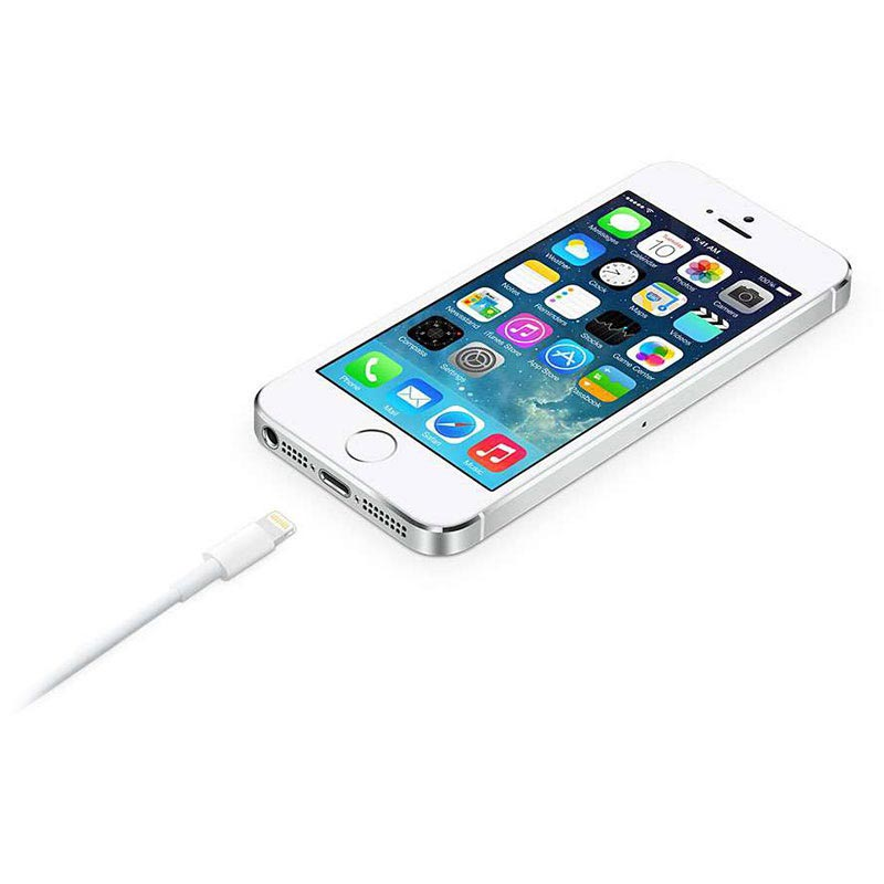 Apple MD819ZM/A Lightning / USB Kabel - iPhone, iPad, iPod - Wit