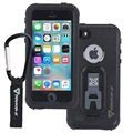 iPhone 5/5S/SE Armor-X Ultimate Waterdicht Hoesje - Zwart