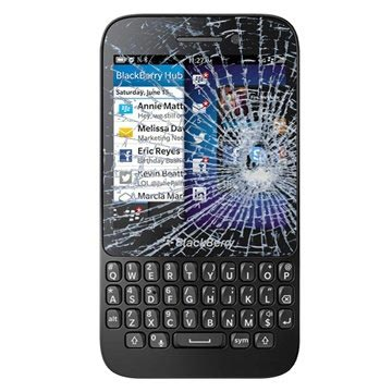 BlackBerry Q5 Displayglas Reparatie