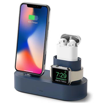 Elago Trio Oplaadstandaard - iPhone, Apple Watch, AirPods