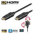 Goobay High Speed HDMI Kabel met Ethernet - Draaibaar - 2m