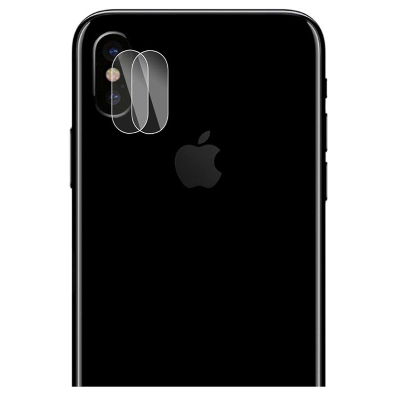 iPhone X / iPhone XS Hat Prince Camera Lens Glazen Protector - 2 St.