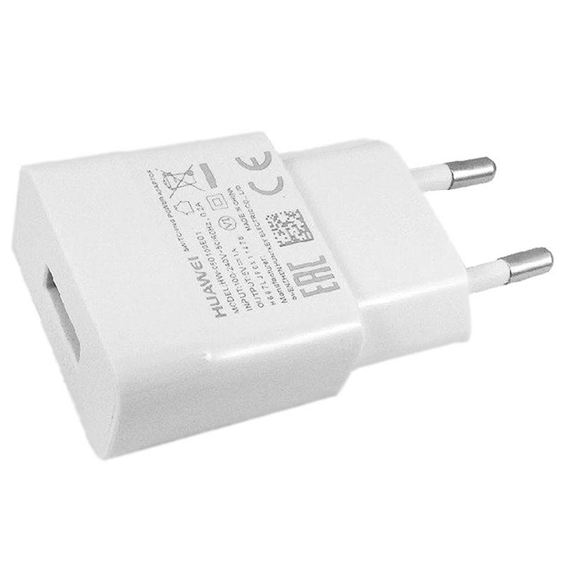 Huawei HW-050100E01 MicroUSB Stopcontact Lader - 1A - Wit