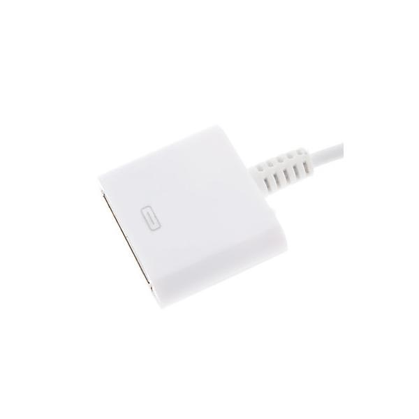 Compatibele Lightning / 30-pin Adapter & Kabel - iPhone 6 / 6S, iPad Pro - Wit