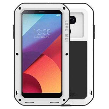 LG G6 Love Mei Powerful Cover - Wit