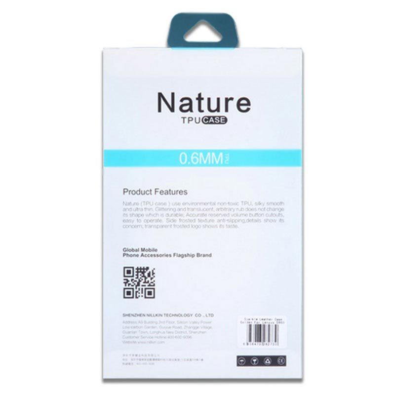 iPhone 5/5S/SE Nillkin Nature TPU Case - Doorzichtig