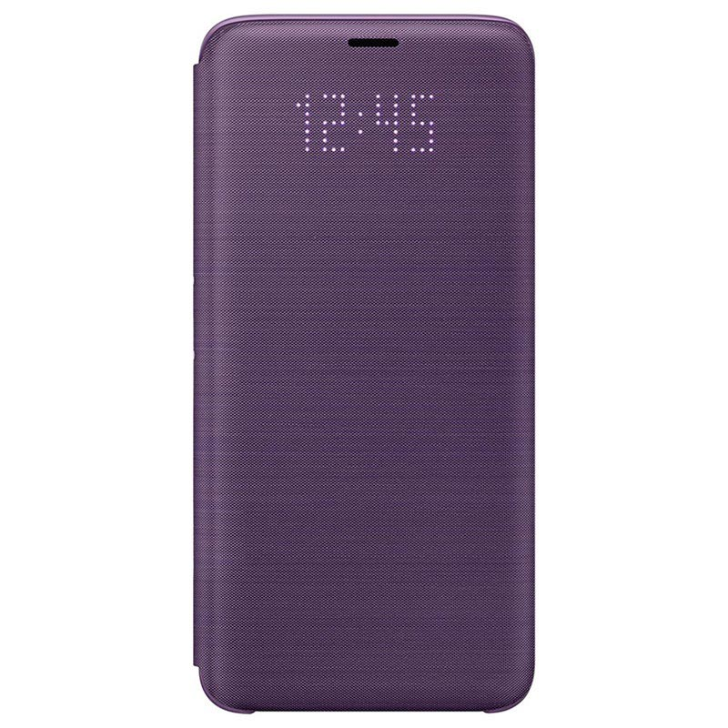 Samsung Galaxy S9 LED View Cover EF-NG960PVEGWW - Paars