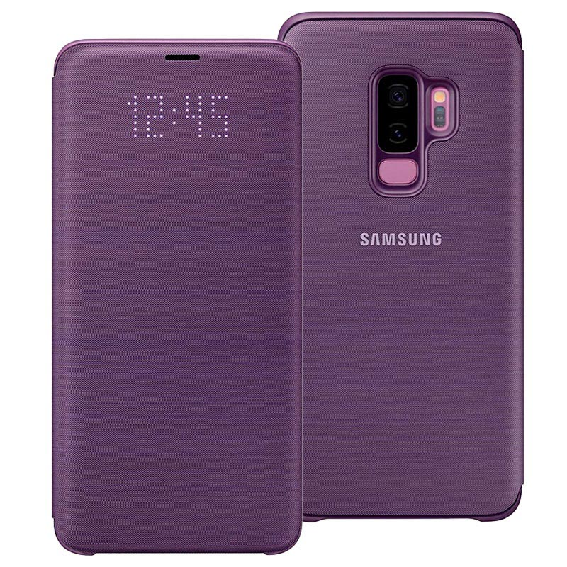Samsung Galaxy S9+ LED View Cover EF-NG965PVEGWW - Paars