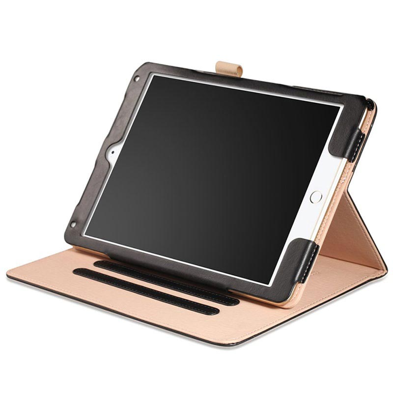 Retro Smart Folio Case - iPad 9.7, iPad Air 2, iPad Air - Zwart