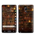 Samsung Galaxy Note Edge Library Skin