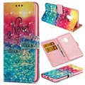 Samsung Galaxy S9 Wallet Case - Wonder Series - Never Stop Dreaming