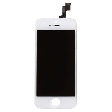 iPhone 5S LCD Display - Wit - Grade A